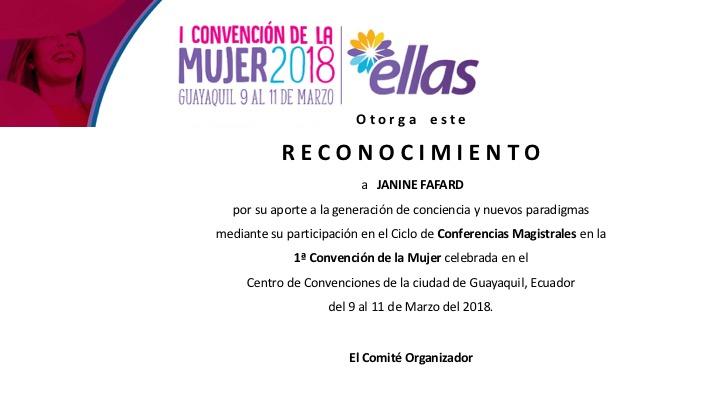 Convención de la Mujer 2018